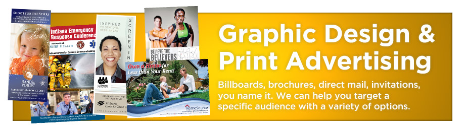 Graphic Design and Print Advertising Banner
