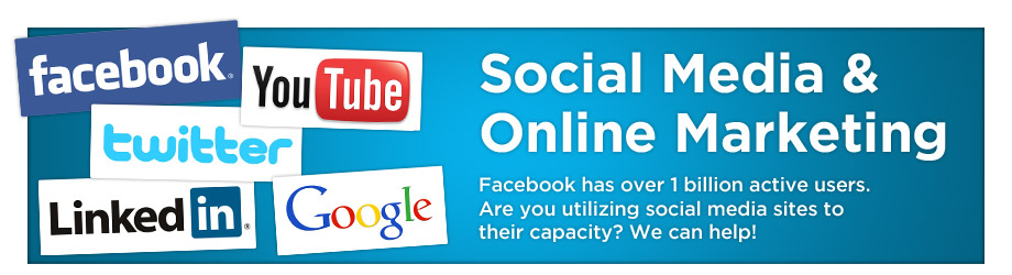 Social Media and Online Marketing Banner