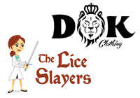 Lullaby Sitters and DOK Clothing Logos