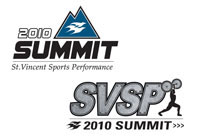 St.Vincent Sports Performance Summit Logos