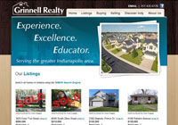 Grinnell Realty Website