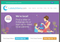 Lullaby Sitters Website